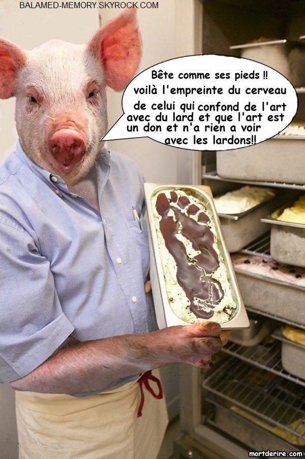 HUMOUR DE LA SEMAINE : Porc salut, porc ça l'est !