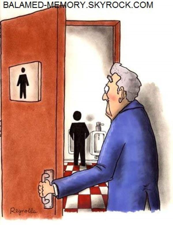 BLAGUE DE LA SEMAINE : Les toilettes de dames