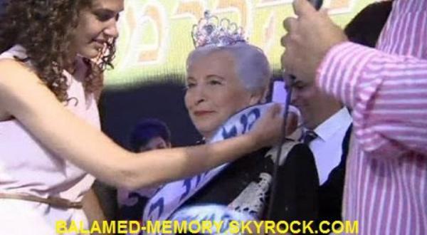 INFO-INSOLITE : Israël  Shoshana Colmer élue Miss Holocauste 2013 (vidéo)