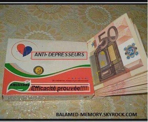 HUMOUR : Anti-Dépresseurs, Efficacité prouvée !!!