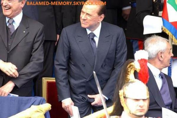 HUMOUR : Berlusconi... mes couilles