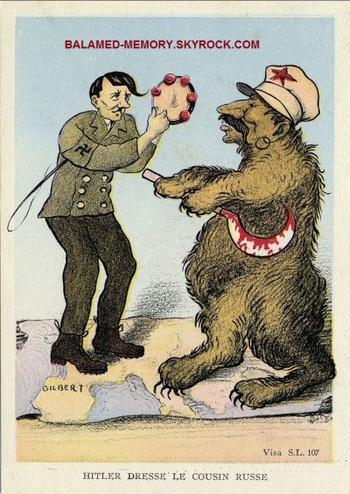 HISTOIRE : Hitler dresse le cousin russe