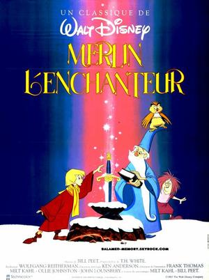 FILM SUR YOUTUBE : Merlin l'enchanteur (Disney 1963 Dessin Animé)
