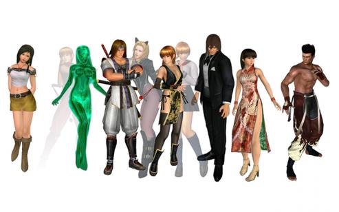 Obtenir les voix système des personnages dans Dead or Alive