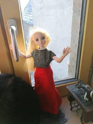 Quand ma « bella » Ellowyne....s 'habille chez Cathy....