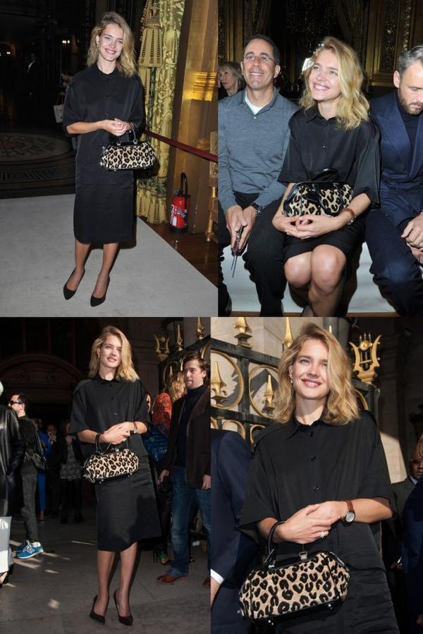 Apparition: Natalia à Paris: Septembre 2012 ; Show Stella McCartneu F/W 2012 : Septembre 2012