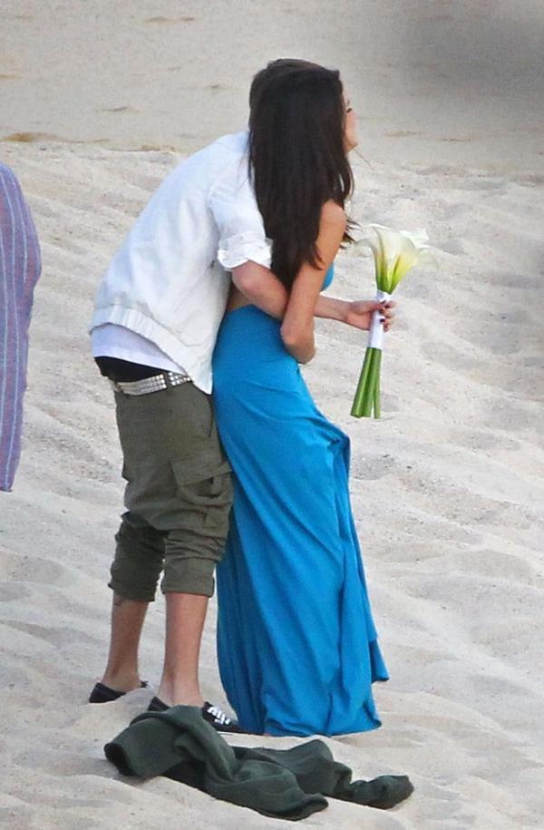 Justin-bieber-underwear sur la plage