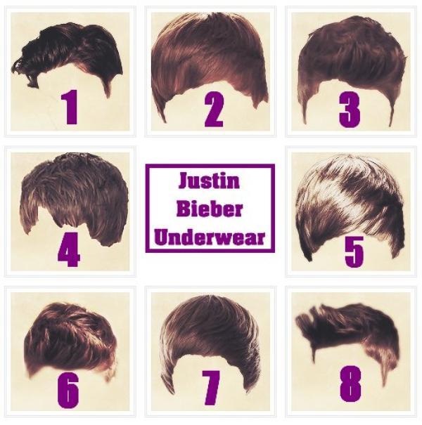 Quelle est ta coiffure préférée de Justin Bieber ?