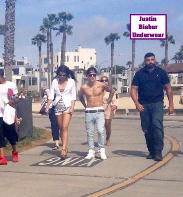 Balade SEXY pour Justin Bieber à Venice Beach