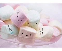 Marshmallows en folie !