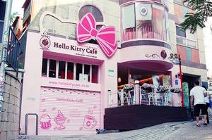 Hello Kitty Café : Le café le plus kawaii !