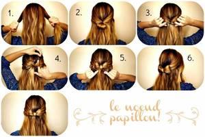 Kawaii Hairstyles #2 : Tutoriel Spécial Chignon N½ud