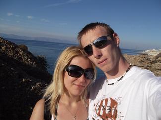 une petite photo de nous en grece (a Rodhe)