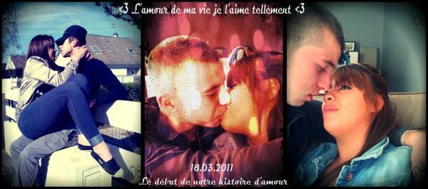 ----------> Mon Homme Depuis Le 18 Mars 2011 Je t'aime Plus Que Tous Mon Amour <----------