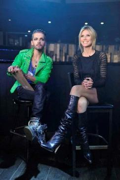 "_ Bill Kaulitz , dans "" Germany's Next Topmodel "" _ le 05/04/2012 ***"