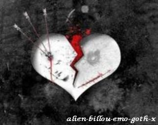 My heart is broken </3 (u)