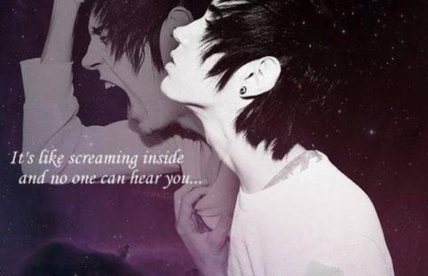 Crier en silence...