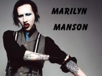 marilyn manson:)