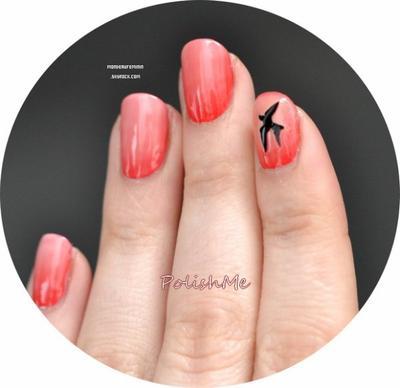 n°11 : Nail Art : La manucure dégradée sans éponge et 100% Bourjois.