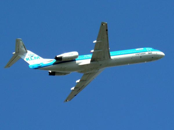 Fokker 100 KLM Cityhopper