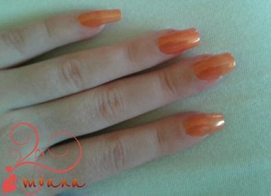 Orange lm cosmetic