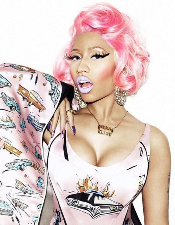 Nicki Minaj : En couv' de Wonderland