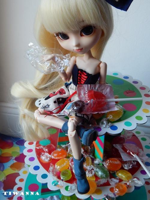Pour le Concours de Polka-Dolls-Fabrics