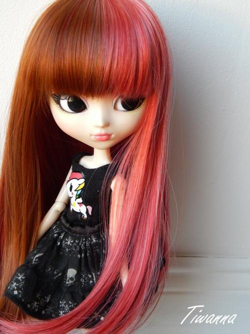 Hyuna et sa nouvelle wig !