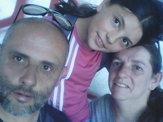 De petite journée en famille moi et ma femme et ma fille