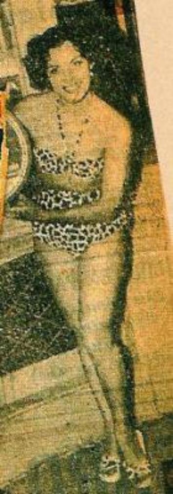 dalida miss  egypte 1954