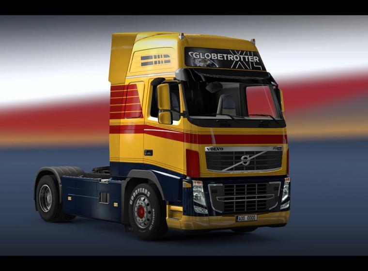 Personnalisation des camions - peinture