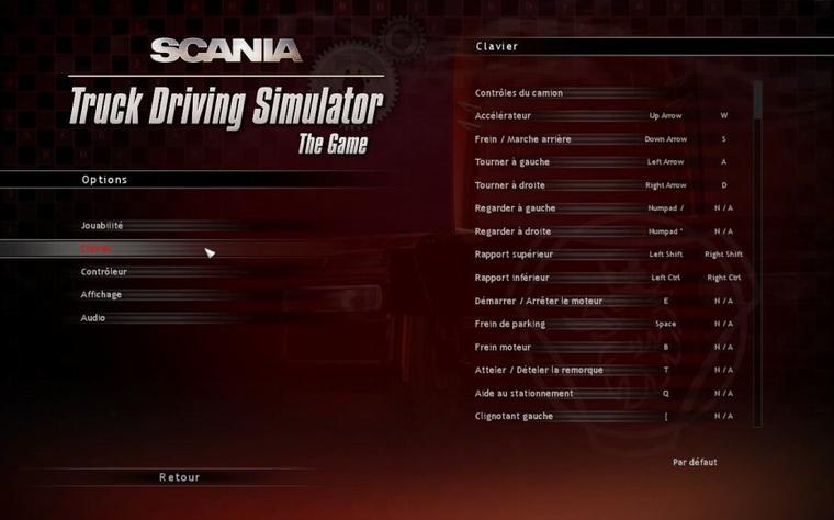 Scania Truck Driving Simulator - Traduction du jeu (version française)