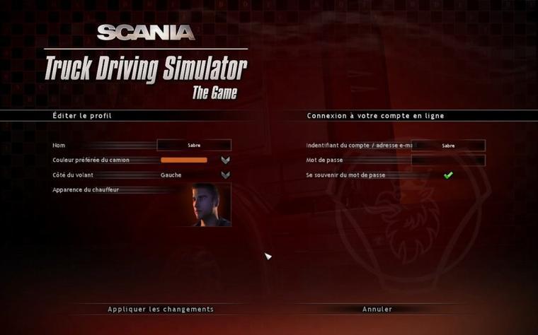 Scania Truck Driving Simulator - Traduction du jeu (version française) #2