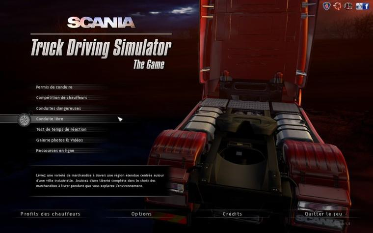 Scania Truck Driving Simulator - Traduction du jeu (version française) #2