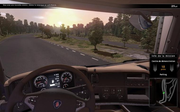 Scania Truck Driving Simulator - Traduction du jeu (version française) #3