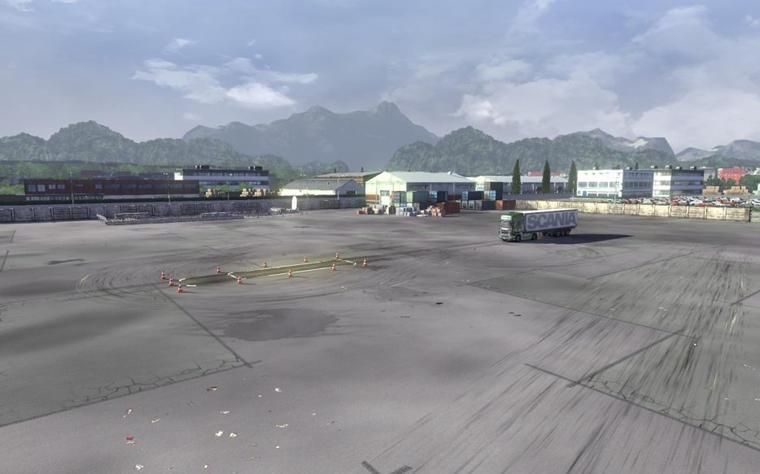 Scania Truck Driving Simulator - Images de présentation