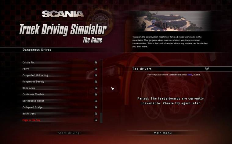 Scania Truck Driving Simulator - Ce n'est pas finit !