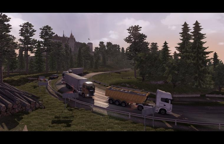 Scania Truck Driving Simulator ! Enfin l'extension de la map !!