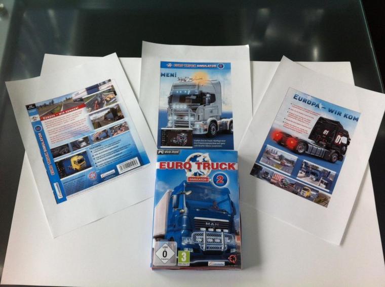 C'est officiel, Euro Truck Simulator 2 sortira en Octobre !
