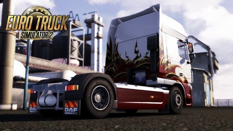DAF dans Euro Truck Simulator 2 !