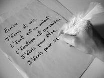 L'écriture (petite pensées)