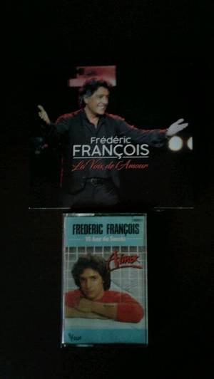 Mon nouveau cd et K7 de Frédéric François