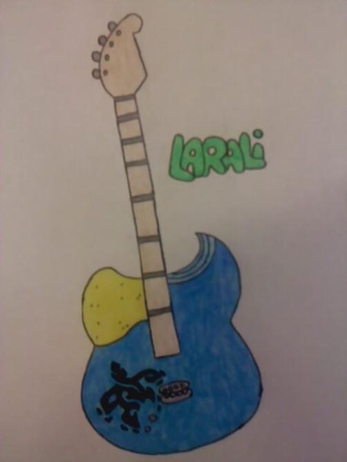 La guitar de Larali ^^
