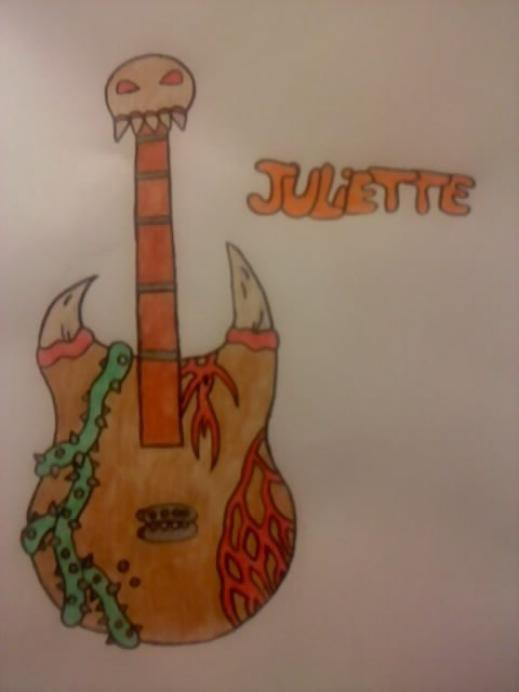 La guitar de Juliette ^^