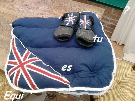 Tapis drapeau anglais