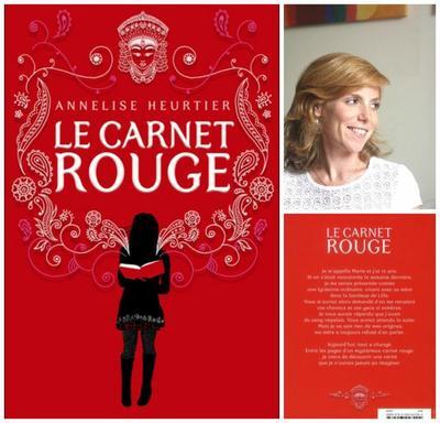 Le carnet rouge - Annelise Heurtier