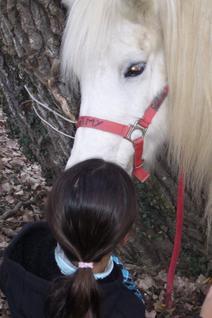 Julie et Moi,3 ans auparavant .. et apres mon choc