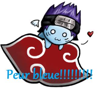 Peur bleue!