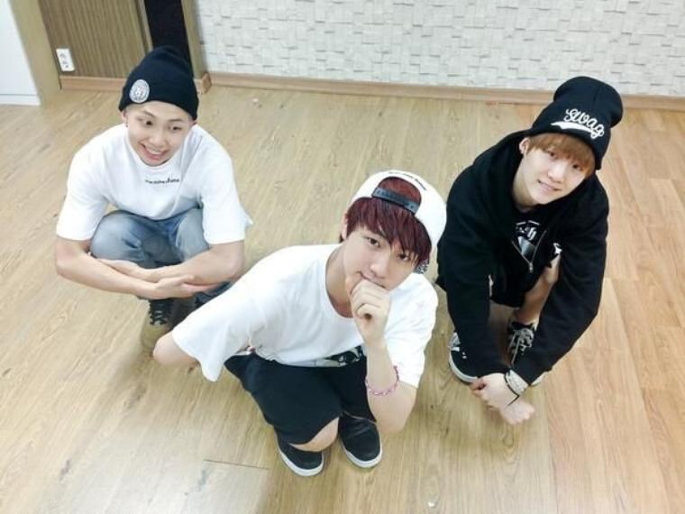Jin, Rap Monster,Suga