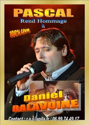 Hommage à Daniel Balavoine